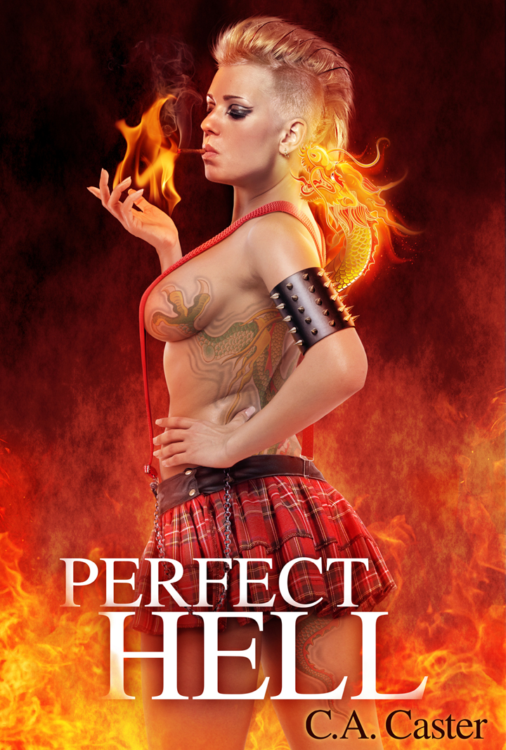 Perfect Hell eBook Cover by Jeffach
