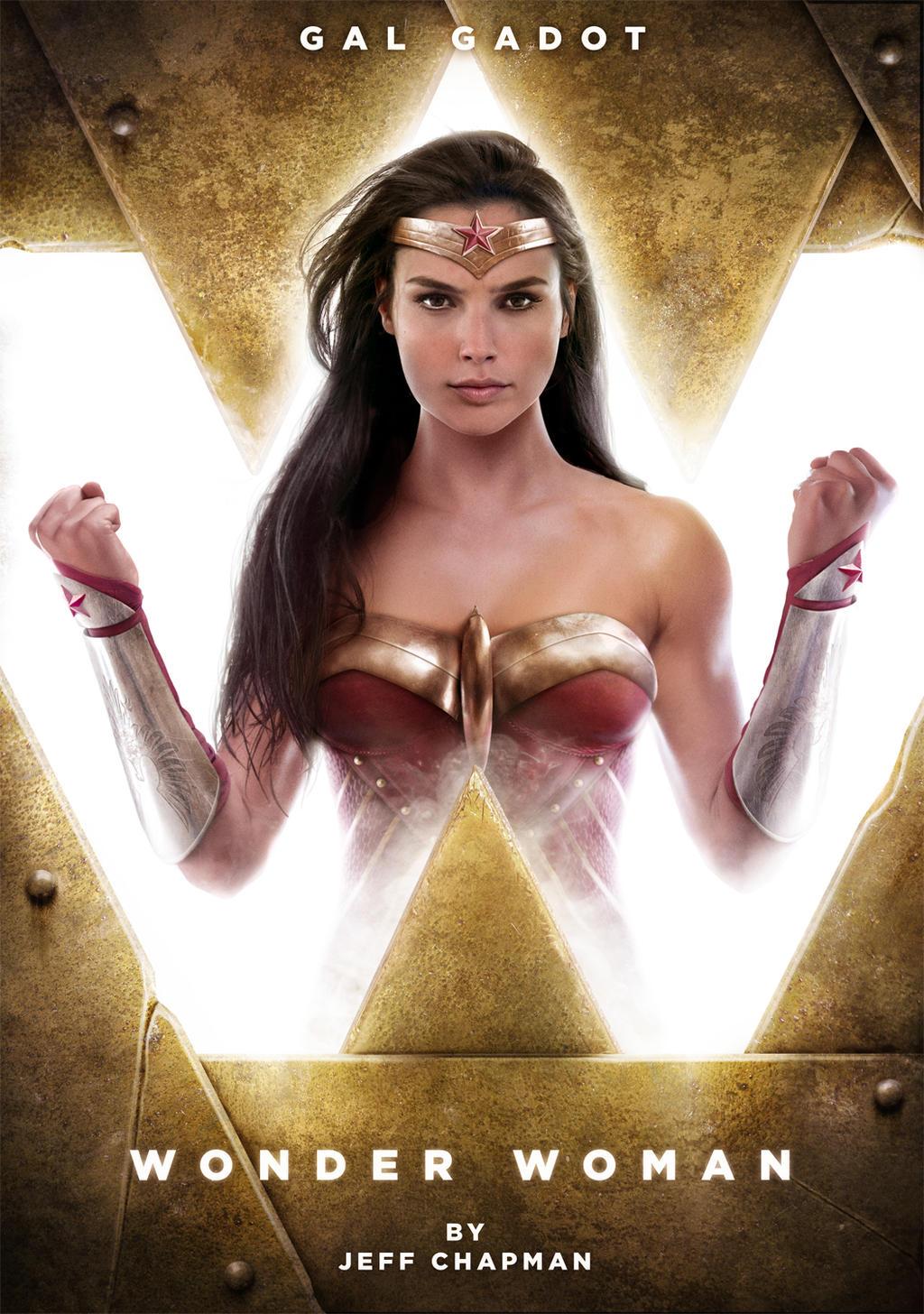 Gal Gadot Wonder Woman by Jeffach