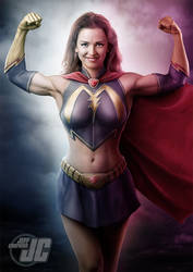 Mindy Marvel Commission 3 by Jeffach