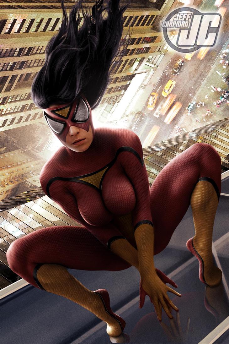 Spider-Woman by Jeffach