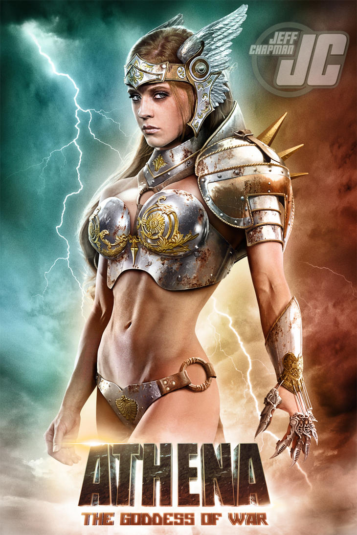 Persephone:  ATHENA, THE GODDESS OF WAR by Jeffach