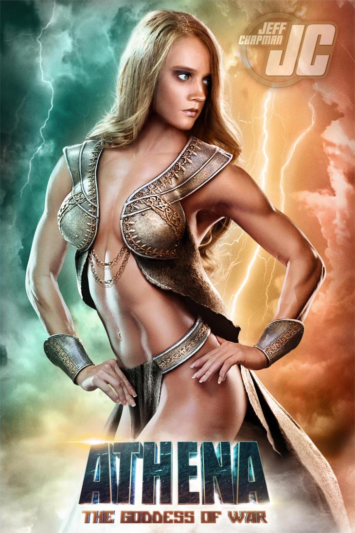 Macaria: ATHENA, THE GODDESS OF WAR by Jeffach