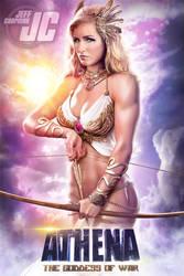 Artemis:  ATHENA, THE GODDESS OF WAR by Jeffach