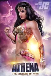 Athena v1:  ATHENA, THE GODDESS OF WAR by Jeffach
