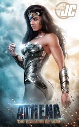 Athena v2:  ATHENA, THE GODDESS OF WAR by Jeffach