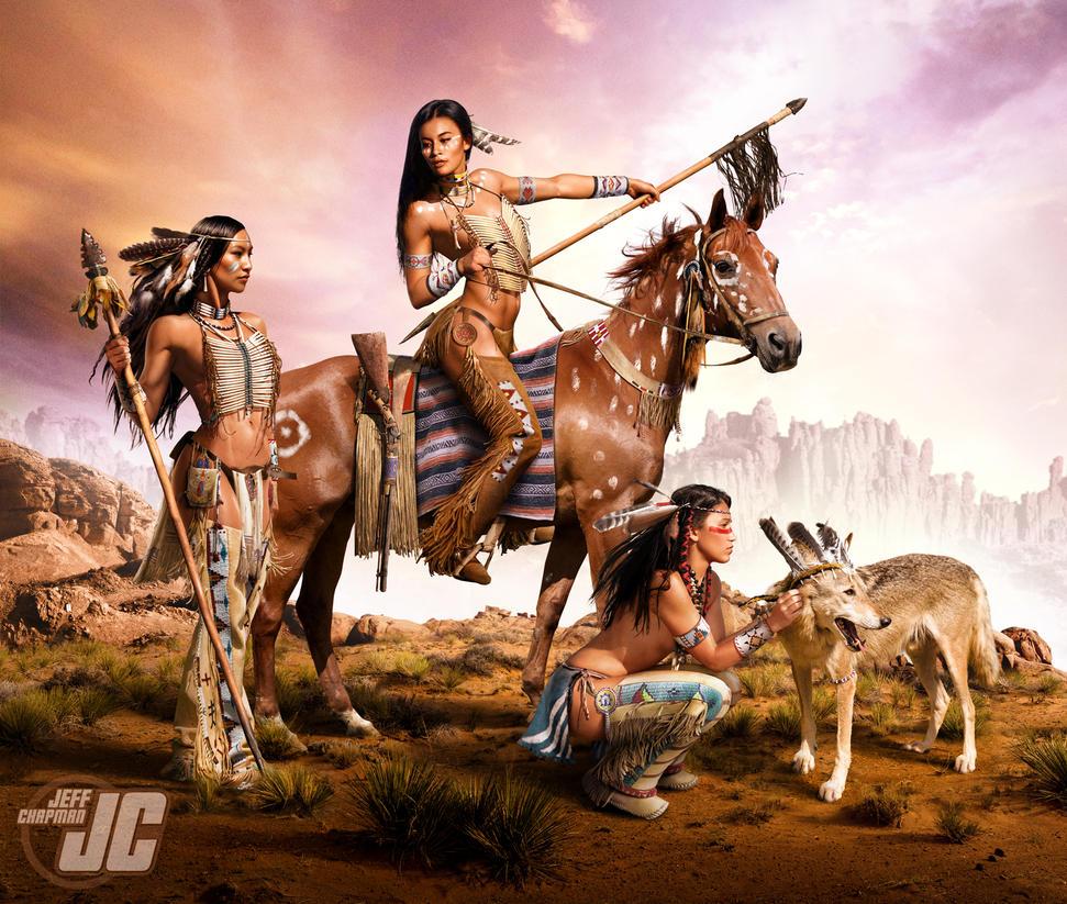 Native american warrior wallpaper hd