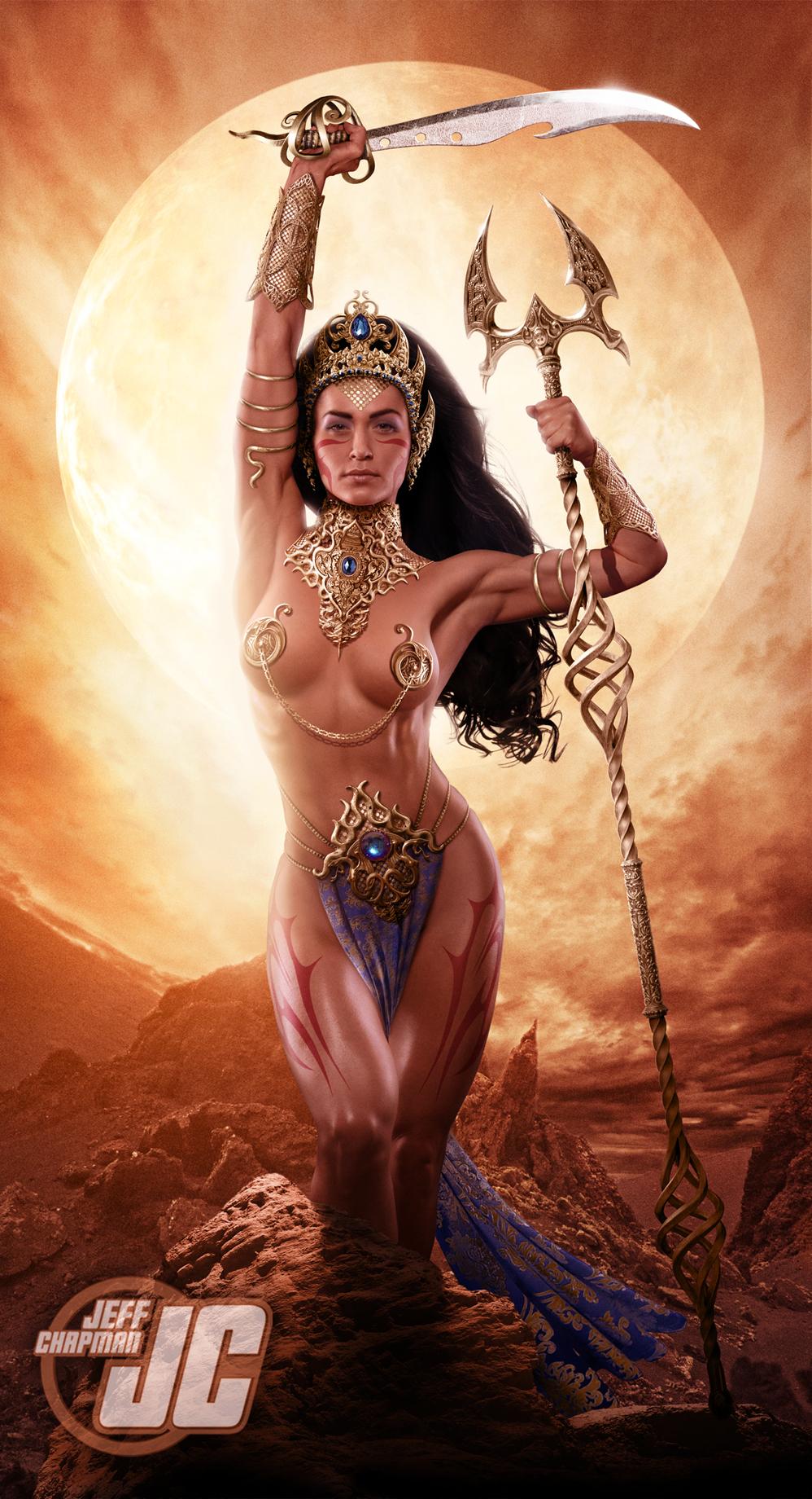 Princess of mars dejah thoris cosplay