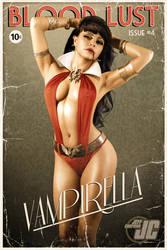 Vampirella retro pin-up