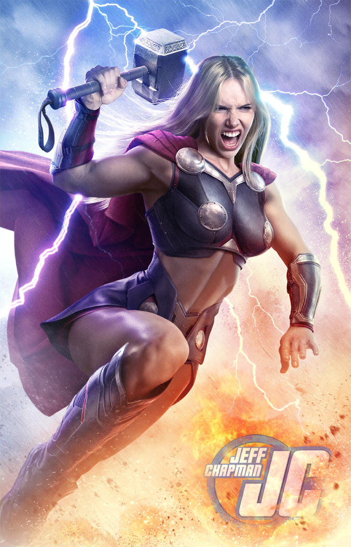 Jane Foster Thor by Jeffach
