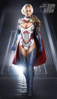 Power Girl by Jeffach