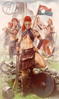 Celtic Warriors by Jeffach