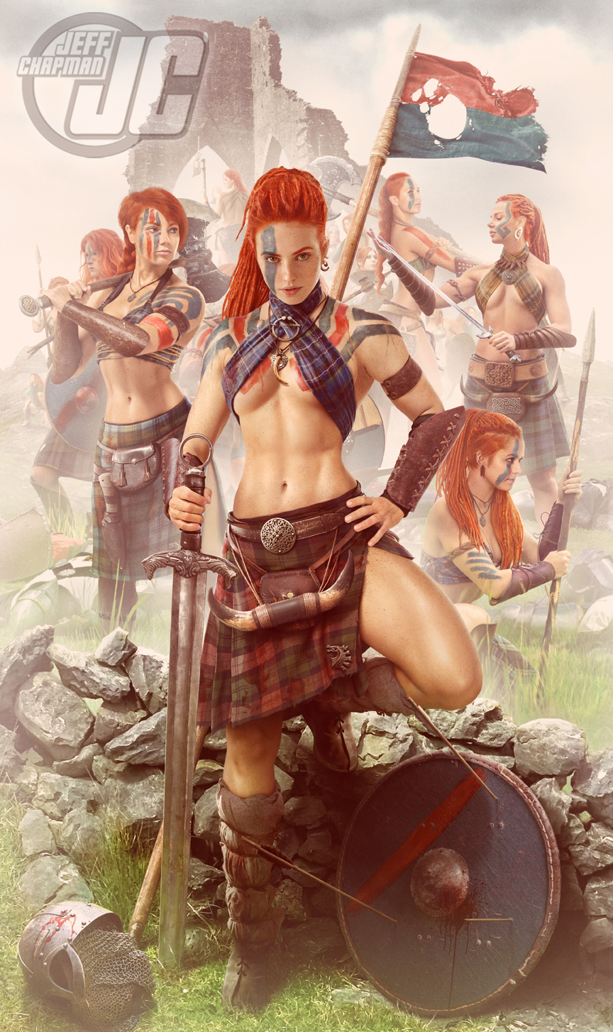 Celtic Warriors by Jeffach