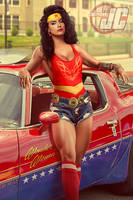 Retro 80's Wonder Woman by Jeffach