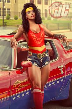 Retro 80's Wonder Woman