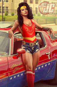 Retro 80's Wonder Woman