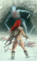Red Sonja: Slay the Beast by Jeffach