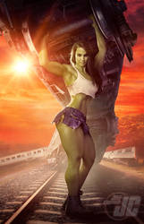 She-Hulk: Train Wreck