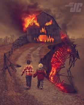 Feed the Flaming Barn God!