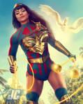 Yara Flor Wonder Woman (with speed video)