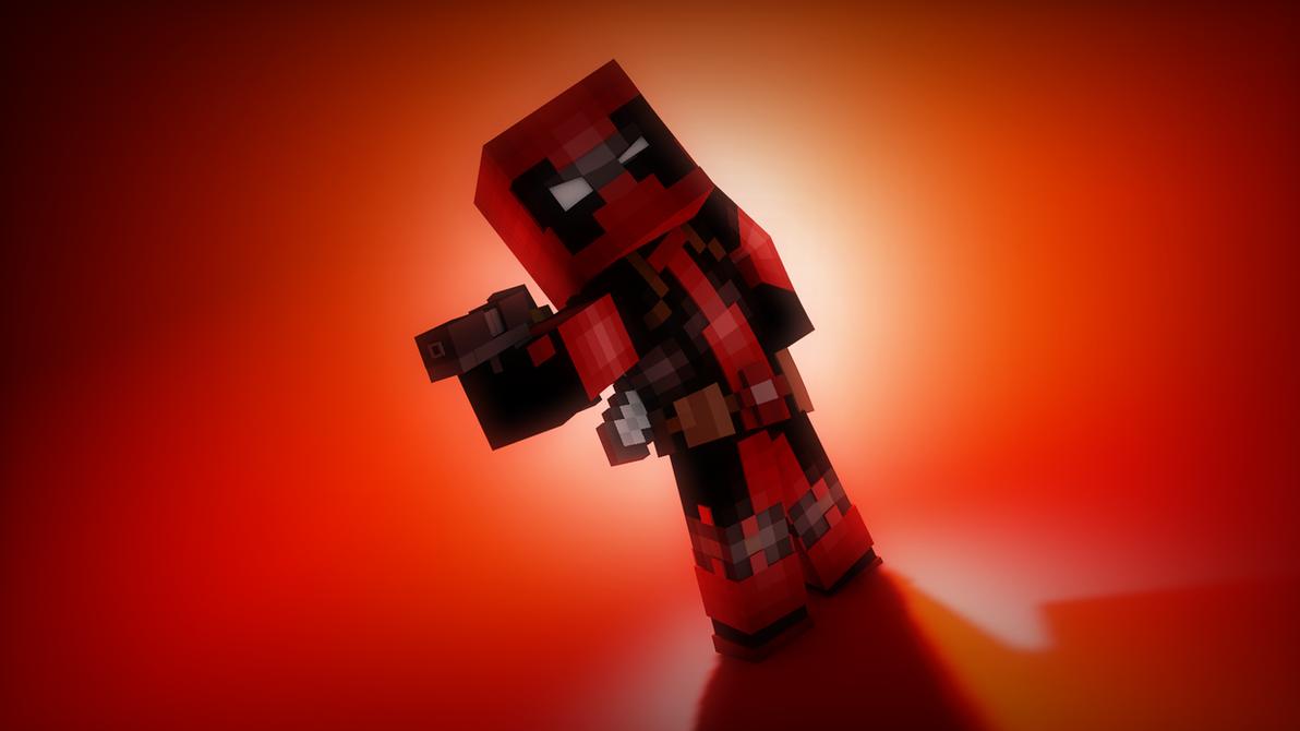 DeadPool Minecraft Render By WrongTurnAnimations On DeviantArt - Deadpool skins fur minecraft