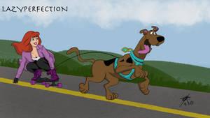 Scoobyboarding