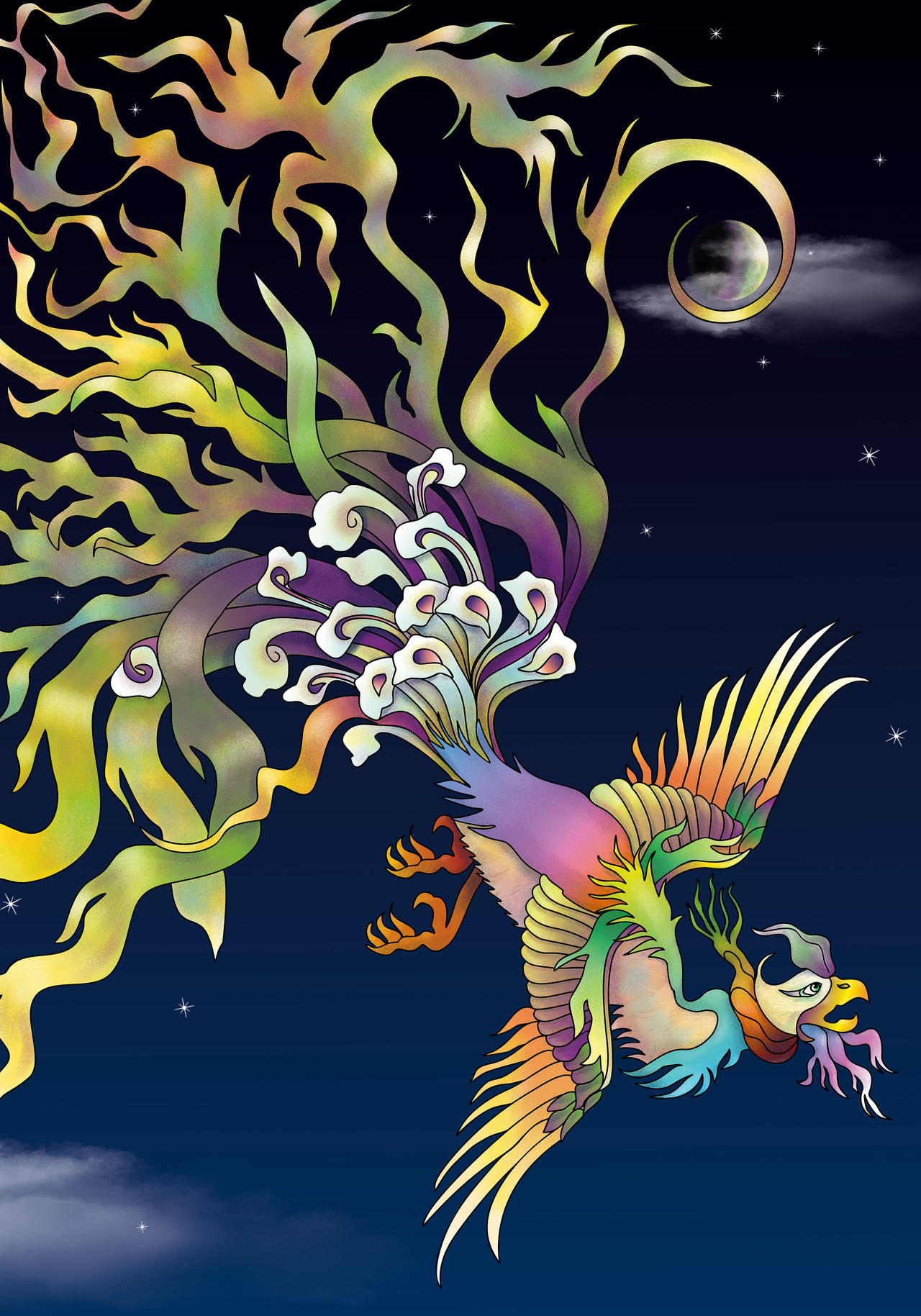Tugrul Bird Simurgh / Phoenix