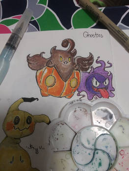 Ghostly types