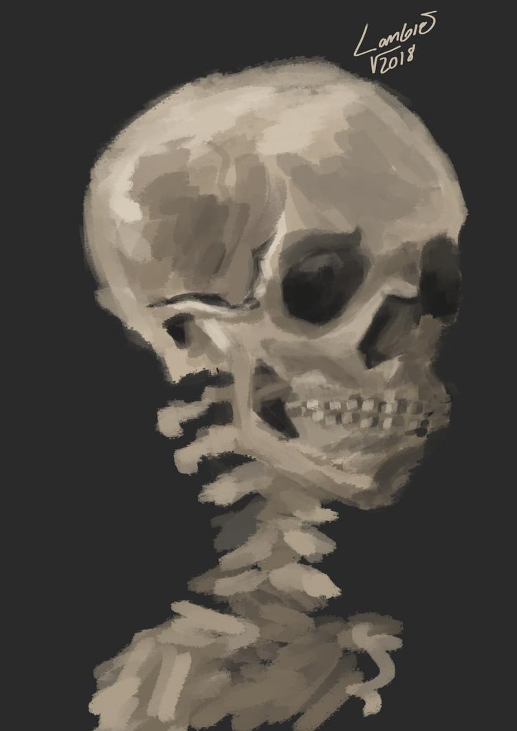 Skull by lambieV
