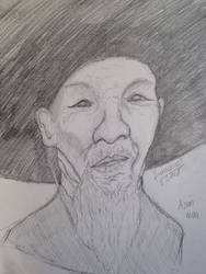 Asian man by lambieV