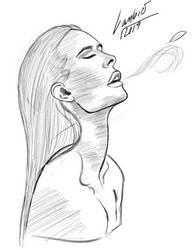 Wamen sketch. by lambieV