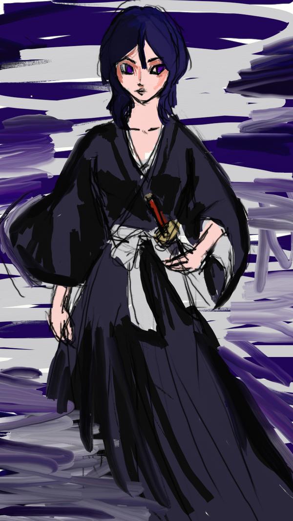 Rukia Wip by RoseleneVictorious