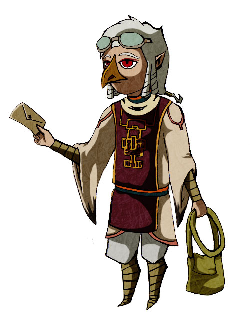Gift Zelda Rito By Phantom Natal On Deviantart