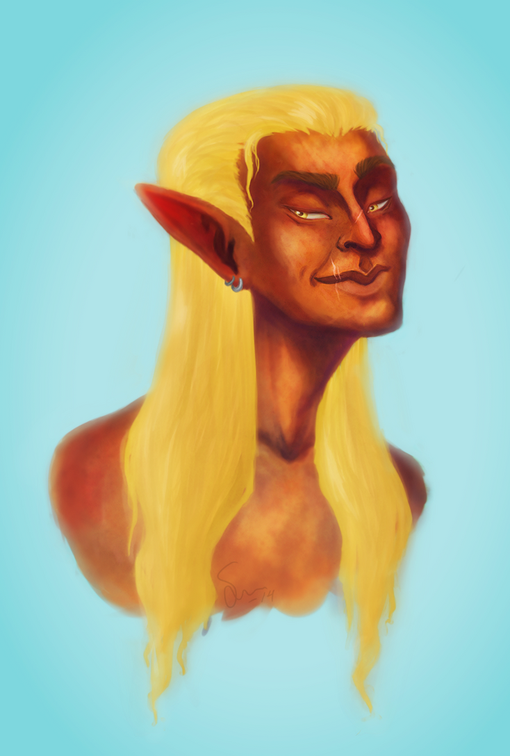 2014-11-09 - Zevran by GingerAdventures