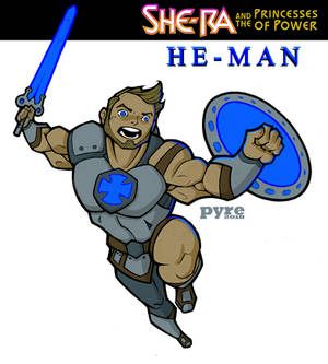 Netflix's She-Ra: He-Man Action Concept by PYRE