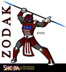 Netflix's She-Ra: Zodak Concept by PYRE