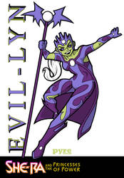 Netflix's She-Ra: Evil-Lyn Concept by PYRE