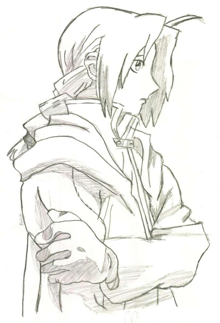 Edward Elric by RaiinFaiiry