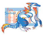 Adopt Auction - Fire Sontage (CLOSED)