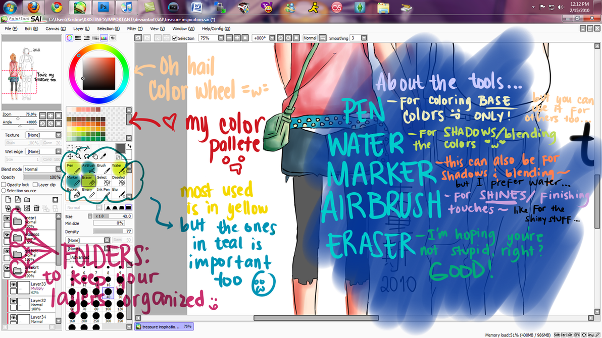 Resize Image In Paint Tool Sai