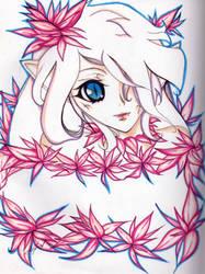 Saveena's Albino Alter by Saveena-001