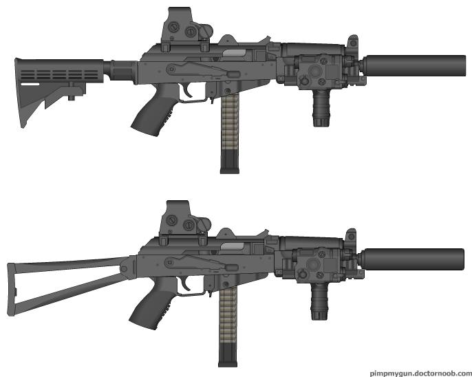 AKS 9mm SMG by crimsonthunder1995 on DeviantArt