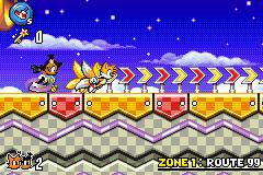 Sonic Advance 3 screenshot - Nicole? by Laura10211