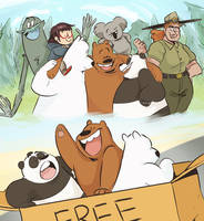 Happy 2 Year Anniversary We Bare Bears! by wbbbrothers