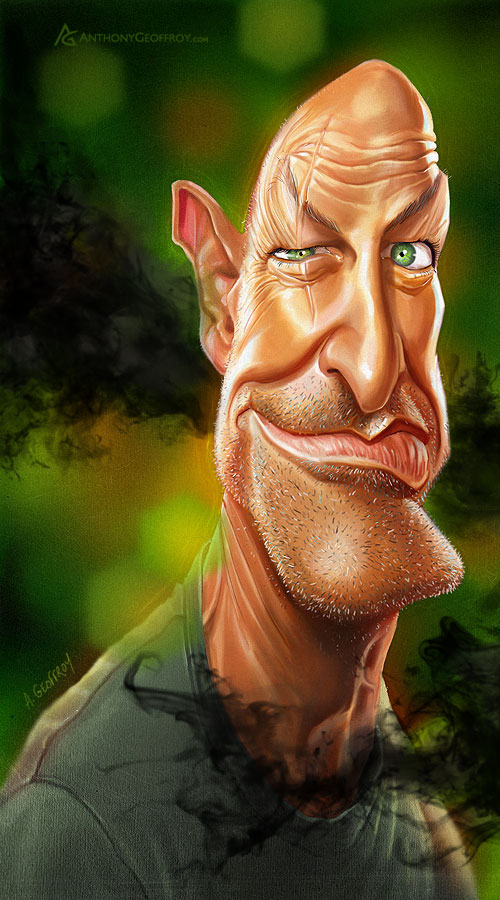 John Locke by AnthonyGeoffroy