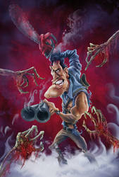 EVIL DEAD by AnthonyGeoffroy