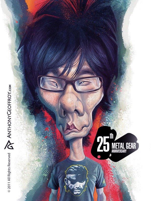 Hideo Kojima by AnthonyGeoffroy