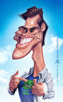 JIM CARREY by AnthonyGeoffroy