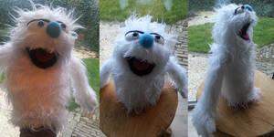 Muppet style handpuppet