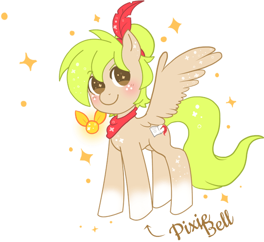 Pixie Bell is my OC!