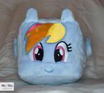 Rainbow Dash Pony Plush Cube